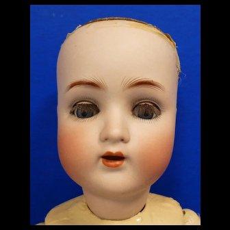 Alt, Beck & Gottschalck Bisque Doll #1362 with composition body