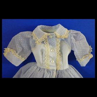 Alexander Cissy Polka Dot Nylon Dress
