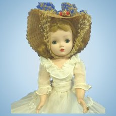 1956 Madame Alexander Cissy Doll Garden Party