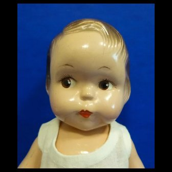 Effanbee Composition Button Nose Doll