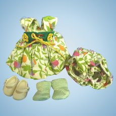 Vogue Ginny Doll Dress, Bloomers, Shoes and Socks