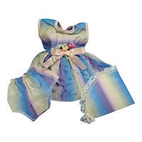 Adorable 3 Piece Outfit for Tiny Tears, Betsy Wetsy, or other Baby Doll