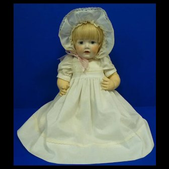 "Beautiful Hilda Baby Doll 18"" Kestner Reproduction"