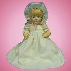 "Beautiful Hilda Baby Doll 18"" Kestner Reproduction"