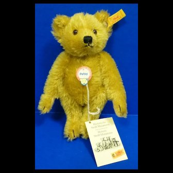 Steiff Historic Miniature Petsy Teddy Bear