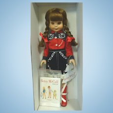 "Robert Tonner Betsy McCall Doll ""Betsy visits Roy Rogers Ranch"""