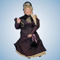 """6"""" Older Lady Dollhouse Doll"""