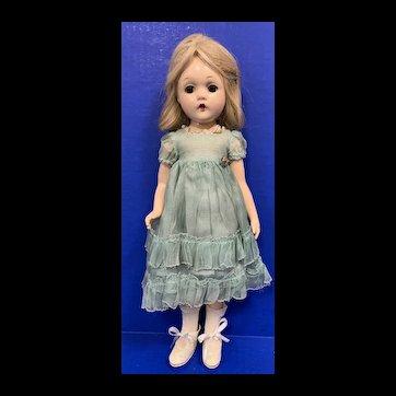"""Madame Alexander 13"""" Wendy Ann Doll in Original Dress"""