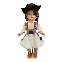 """Artisan Doll Co. 19"""" Raving Beauty Cowgirl Doll"""