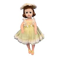 Madame Alexander Red Hair Lissy Doll in Tagged Yellow Outfit
