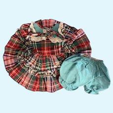 Arranbee R&B Original Dress & Bloomer Undies for Nannette or Nancy Lee Doll