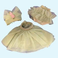 Betsy McCall Doll Lime Green Ballerina Outfit