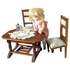 Antique German Wooden table set