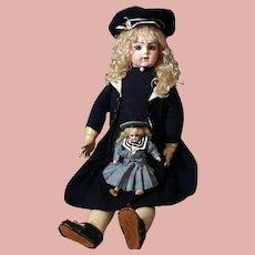 Fab Bru Jne R & her little SH doll