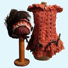 Beautiful Bebe Dress for your Jumeau, Bru or Steiner