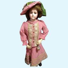 Mauve Silk Doll Dress