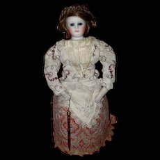 Hold for S Very Rare French Mechanical Gliding Doll Seldom Seen!