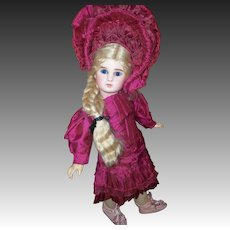 Petite Figure A, By Jules Steiner in Lavish Costume