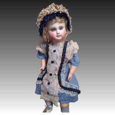 Hold for P~Affordable French Schmitt Beauty ~ Nice Size ~ Blue spiral Eyes!