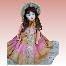 "TLC ""A.T. Kestner""  Beautiful example of the rare doll!  finest modeling of bisque and painting"