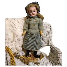 All Original Petite French PG Doll in Sea foam Mariner outfit in Presentation Display Box