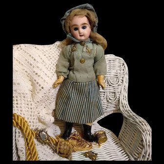 All Original Petite French PG Doll in Sea foam Mariner outfit