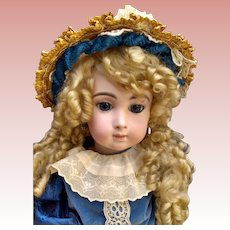 Gorgeous French Bisque Bebe Triste by Emile Jumeau Boo Boo Bargain!