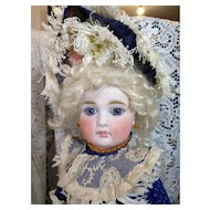 Sonnenberg Bisque Doll with Closed Mouth and Early Bru Body