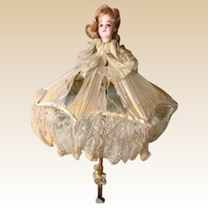 """""""Poupee Parasol"""" with FG Head  From Famous Mary Merritt Museum"""