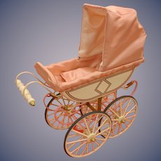 UFDC Doll Carriage Pram Buggy Limited Edition Marklin In Original Box Miniature