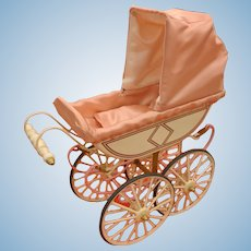 UFDC Doll Carriage Pram Buggy Limited Edition Marklin In Original Box Miniature