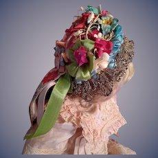 Antique Doll Bonnet