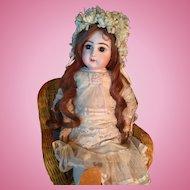 Bargain Tete Jumeau Antique Dress and Hat