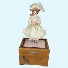 French Mechanical Musical Ballerina