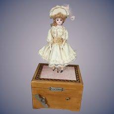 French Mechanical Musical Ballerina
