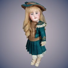 """14"""" German bisque child, 949, by Simon and Halbig"""