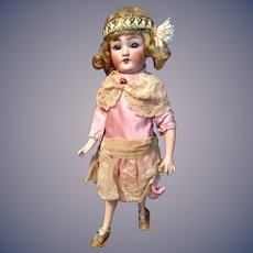 German Bisque Flapper Lady 1159 by Simon and Halbig