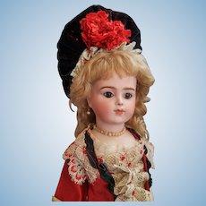 "12"" Bru Jne R Doll with Chevrot Body"