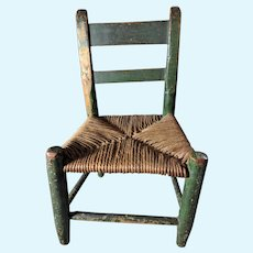 Early American Doll chair