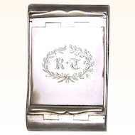 Double Silver Snuff Box, gilt-lined, maker Matthew Linwood