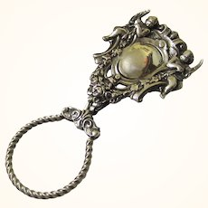 Delightful Continental Silver Key Chatelaine, early 20th Century