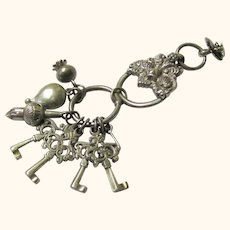 Intriguing Pendant Chatelaine-style Ornament, late 19th Century