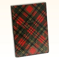 "Tartan Ware Card Case ""Prince Charlie"" design"