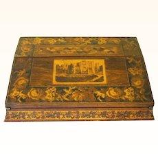Desirable Tunbridge Portable Lap Desk, mid-19th century