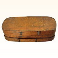 Large German Bentwood Pantry Box, 19th century