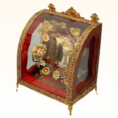 Rare Complete Glazed Box-form Mariage, late 19th century
