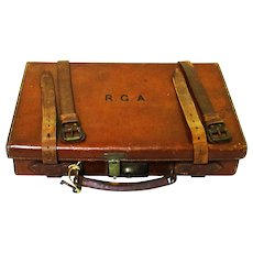 """Wilkinson Sword"" Travelling Salesman Leather Presentation Case"