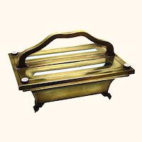 Unusual Brass Knife or Cutlery Box, French, mid-19th Century