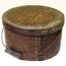 Classic Sturdy Bail-Handled Pantry Box, Americana, 19th Century