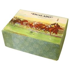 "Chad Valley Boxed Horse Racing Game, ""Escalado"", c1950"
